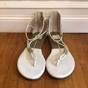 DV by Dolce Vita Gold Accent Sandals